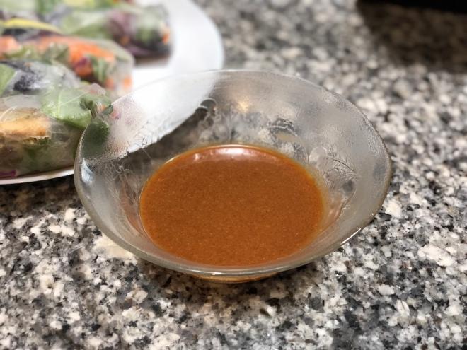 Spring Roll Peanut Sauce